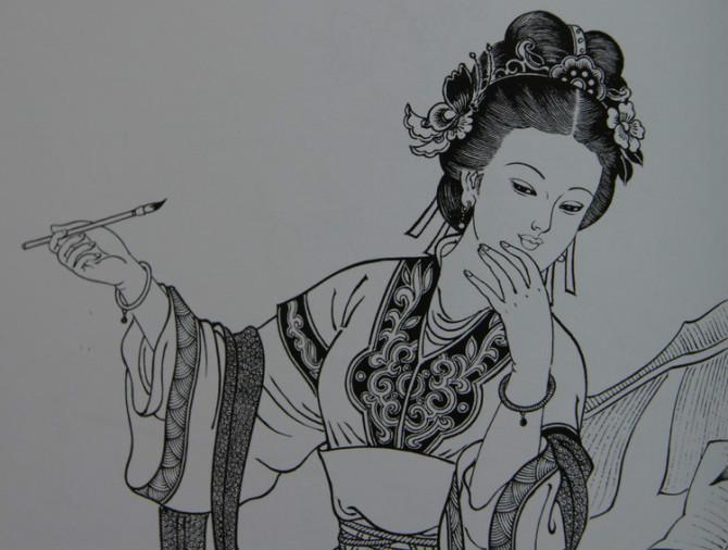 古典美女/ 刘公华