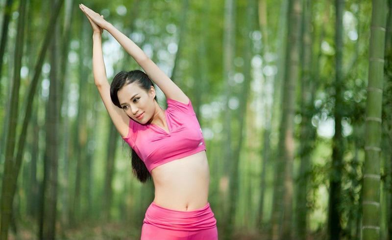 被称为亚洲最美瑜伽教练