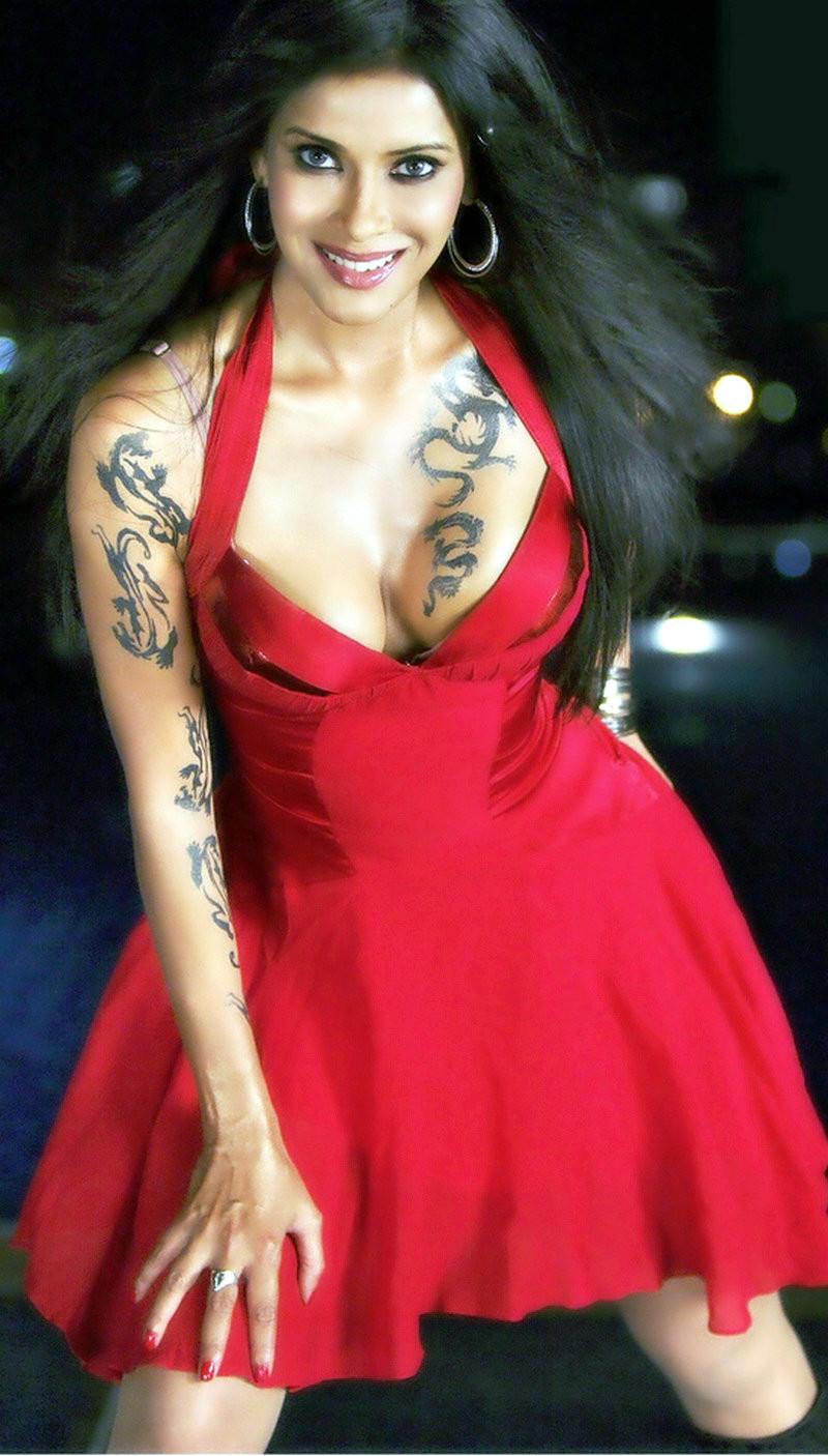 印度美女明星 名媛南达娜・森