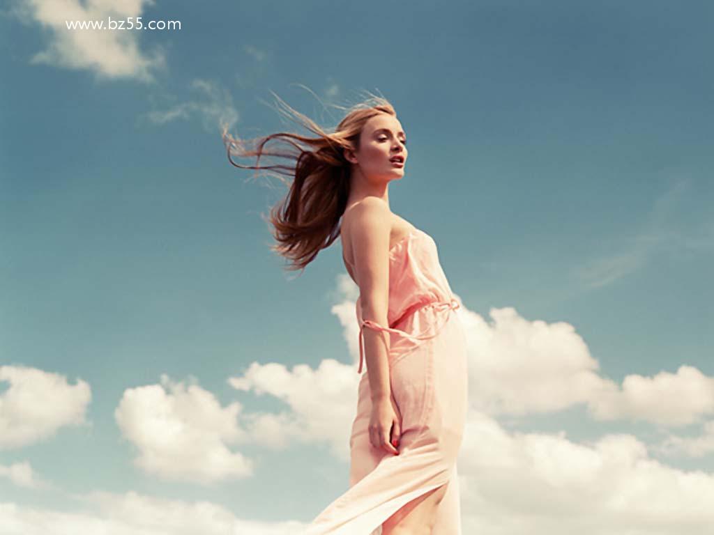 唯美性感的欧美范美女时尚摄影壁纸图片 1024