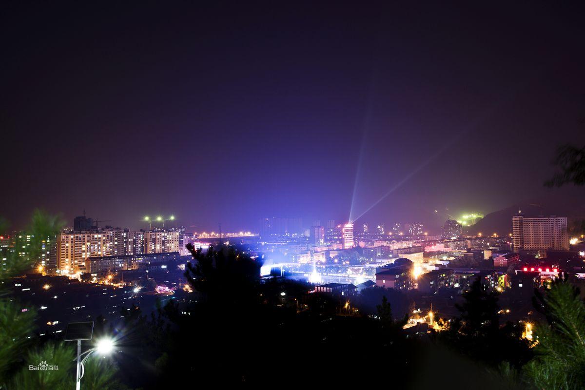 丰宁城市风光