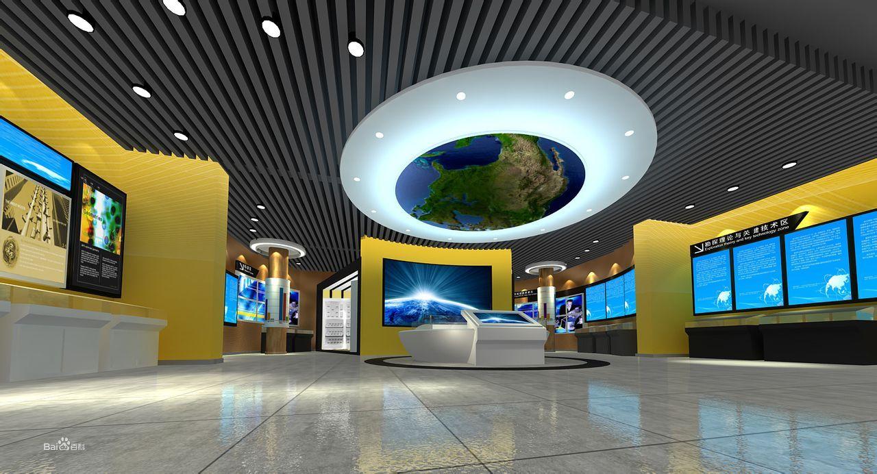 商业空间 多媒体展厅图片