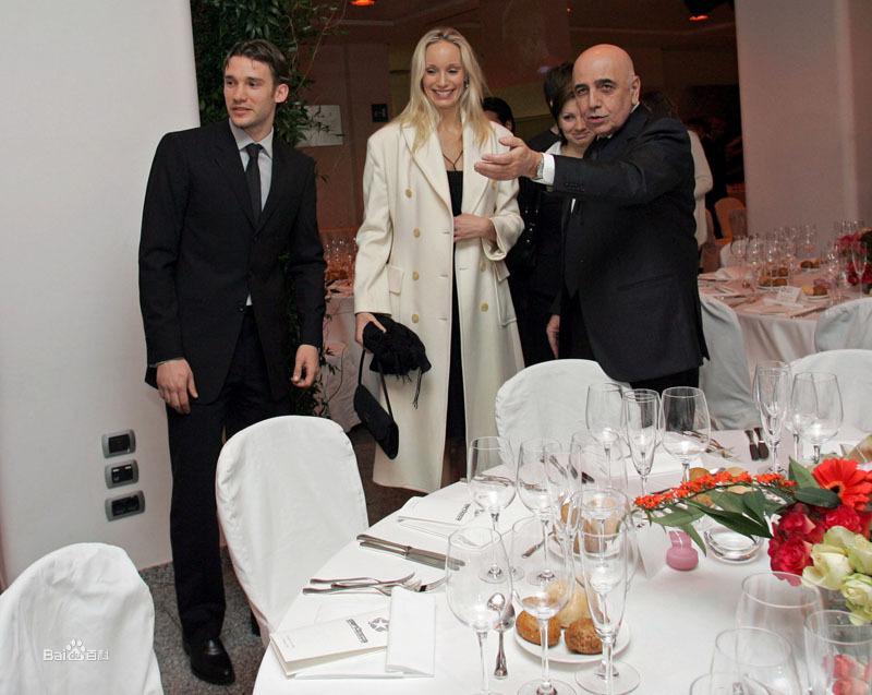 舍甫琴科与妻子