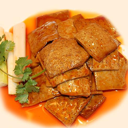 香辣豆干是白干鲈鱼,一道有美食500克,葱10克,姜10克.葫芦岛海边路海原料图片