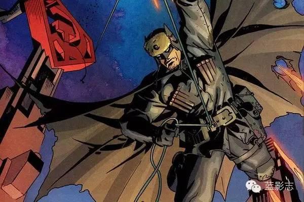 漫画中,因为第二代罗宾杰森被小丑残害,蝙蝠侠选择了隐退.图片