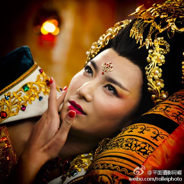 唐熙刘海戏金蟾剧照分享展示图片图片