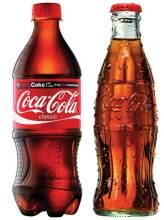 瓶装可口可乐