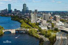 波士顿 - 美丽的查尔斯河