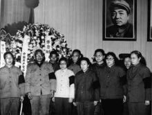 彭德怀亲属在追悼大会上合影(1978年)