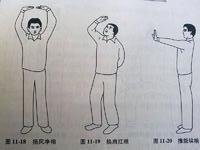 颈椎病锻炼操之易筋经图例