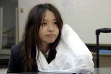 2006年4月,在藤木直人担任的电视剧《简谱掌门人》中首次主演女主角.电视剧歌谱外乡人都市辣妹图片