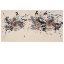 南京书画院专职画家傅明和作品