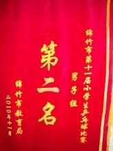绵竹市雅居乐南轩小学:证书、锦旗与奖牌