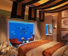 豪华的棕榈岛亚特兰蒂斯酒店