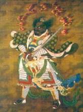 吴道子《天王图》