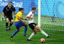 德国女足比赛截图