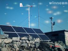 太阳能监控安装效果图