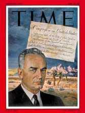 时代周刊封面上的巴里·戈德华特
