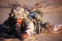 美国大兵手中的M249