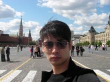 刘恩旭的国外旅游照
