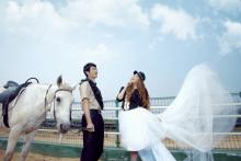 马场情缘美丽新娘