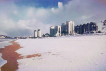 威海冬天景色