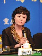 当代著名作家、中国作协主席--铁凝参加会议