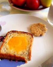 鸡蛋煎吐司