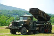 韩国陆军装备的国产多管火箭炮