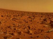 真实的火星地表景观