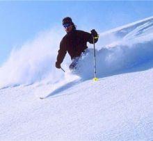 滑雪场景象
