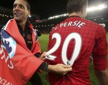 范佩西帮助曼联夺得了第20个英超冠军