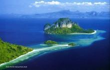 南湾自然风景图片