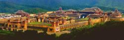 Qin A Fang Gong site restoration map