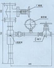 组成 编辑 zpb型喷射泵总成是由zpb型喷射泵,阀门,真空表,管道及管件图片