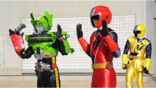 手里剑战队vs假面骑士drive图片