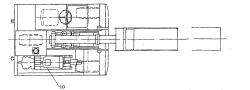 行走部分采用变量变向柱塞泵与前轮油马达联成封闭循环的液压回路图片