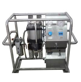 化学注入系统最大工作压力为1,050bar,高压回路具有过滤,过压保护装置图片