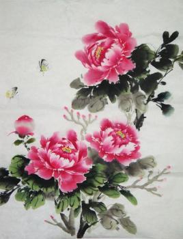 中国画教程:牡丹图片