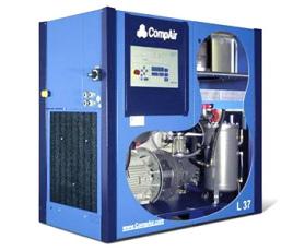 螺杆式空气压缩机图片