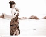 中国裸体模特常女士