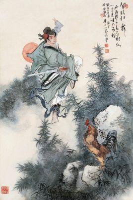 祖逖闻鸡起舞_枕戈待旦,闻鸡起舞,慨然有澄清天下之志.