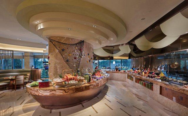 厦门希尔顿逸林酒店圆聚主题式自助餐厅