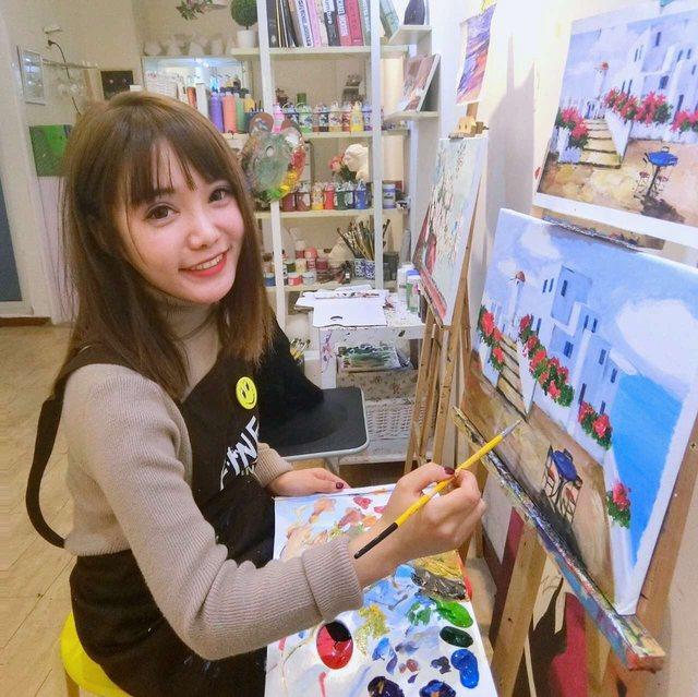 fine painting自助画室