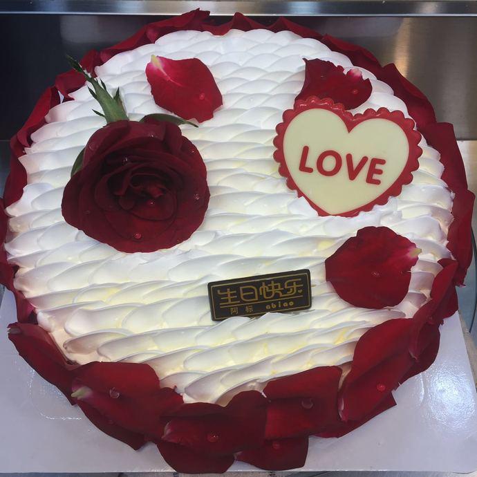 万里香生日蛋糕(人民路店)