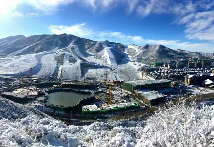 崇礼富龙滑雪场