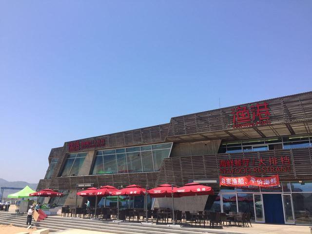 渔港海鲜餐厅大排档