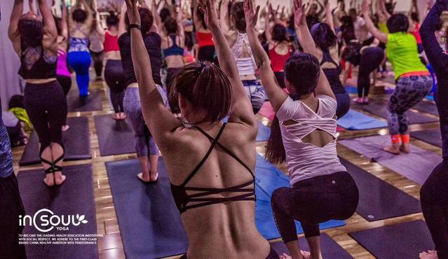 印想瑜伽·崂山恒基奢华中心(金狮商圈店)