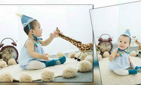 爱叮堡韩式儿童摄影
