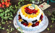 福禄寿双层蛋糕